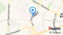 Диамант на карте