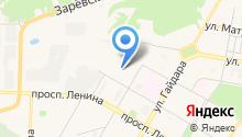 Дзержинское монтажное управление на карте