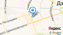 Авторейс-СПБ на карте