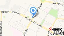 Mила на карте