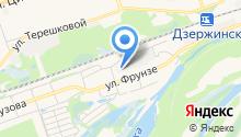 Город леса на карте
