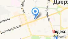 Дск на карте