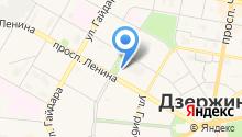 ДзержинскСтройлидер на карте