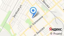 Кадастровый инженер Кулакова А.И. на карте