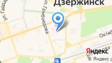 Дзержинский межрайонный отдел судебно-медицинской экспертизы на карте