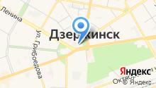 Администрация г. Дзержинска на карте