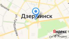 ЗАГС г. Дзержинска на карте