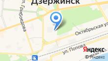 Дзержинские телеприемные антенны на карте