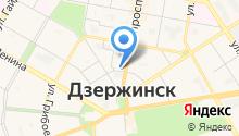 Дзержинск-металл на карте