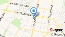 Дзержинский городской суд на карте