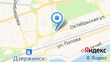 Блин-бар на карте