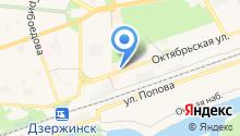 SP на карте