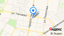Брюлик на карте