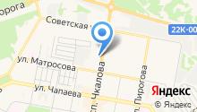 Парикмахерская №1 на карте