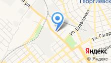 Георгиевское, ЗАО на карте