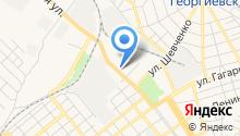 Георгиевское на карте