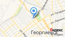 Георгиевские городские электрические сети на карте