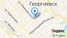 Управление вневедомственной охраны войск Национальной гвардии РФ по Ставропольскому краю на карте