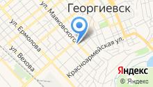 Отдел вневедомственной охраны Управления МВД РФ по Георгиевскому району на карте