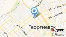 Территориальное общественное самоуправление №2 г. Георгиевска на карте