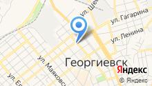 Территориальное общественное самоуправление №1 г. Георгиевска на карте
