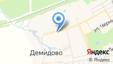 Сердолик на карте