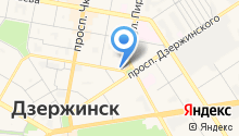 Группа лицензионно-разрешительной работы Управления МВД России по г. Дзержинску на карте