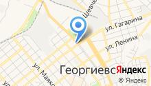 Георгиевский центр социального обслуживания населения на карте