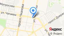 Дзержинская торговая фирма на карте