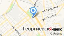 Центр занятости населения Георгиевского района на карте
