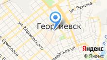 Георгиевская межрайонная прокуратура на карте