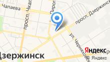 Дзержинский перинатальный центр на карте