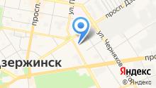 Дзержинский госпиталь ветеранов войн им. А.М. Самарина на карте