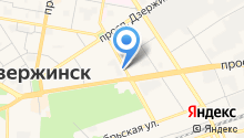 Детская библиотека им. Дзержинского на карте