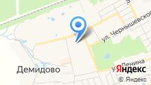 Детский сад №1 на карте
