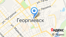Георгиевская типография на карте