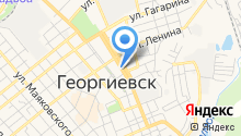 Центр образования №10 г. Георгиевска на карте