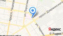 Больница скорой медицинской помощи на карте