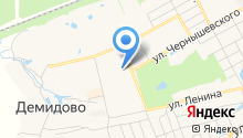 Фея на карте