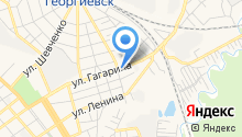 Георгиевск-Оценка на карте