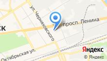 Городская поликлиника №3 на карте