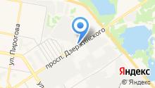 Дзержинский водоканал на карте