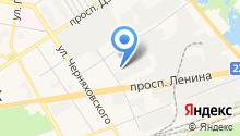 Центр обслуживания автомобилей на карте
