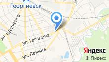 Георгиевский на карте