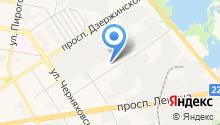 Дзержинский индустриально-коммерческий техникум на карте