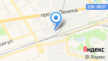 Автосервис на Октябрьской на карте