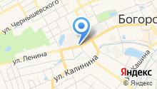 Богородский кожевенный завод им. А.Ю. Юргенса на карте