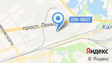Дзержинский мясокомбинат на карте