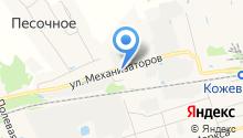 База металлопроката на карте
