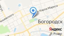 Богородский политехнический техникум на карте